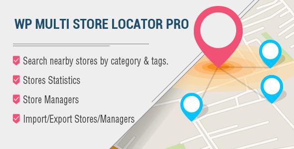 multi - WP Multi Store Locator Pro