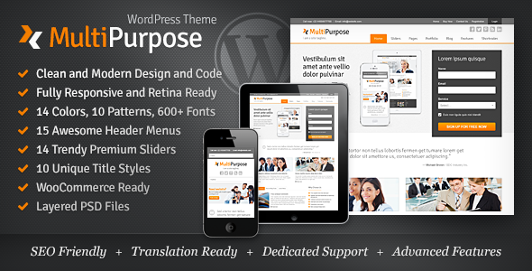 multipurpose - MultiPurpose - Responsive WordPress Theme