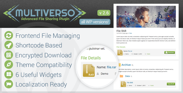 multiverso - Multiverso - Advanced File Sharing Plugin
