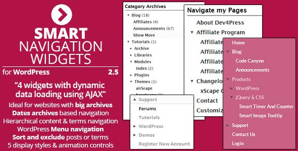 navigation - Smart Navigation Widgets