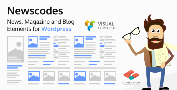 newscodes - Newscodes - News, Magazine and Blog Elements for Wordpress