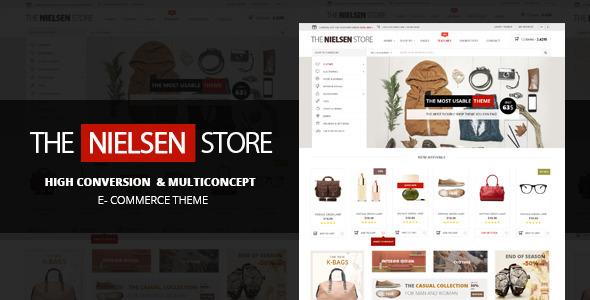 nielsen - Nielsen - E-commerce WordPress Theme