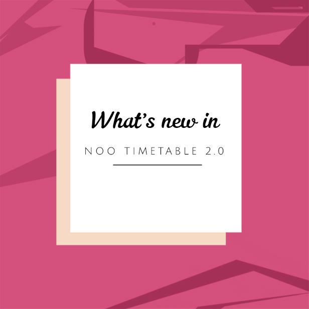 noo2 - Noo Timetable - Responsive Calendar & Auto Sync WordPress Plugin