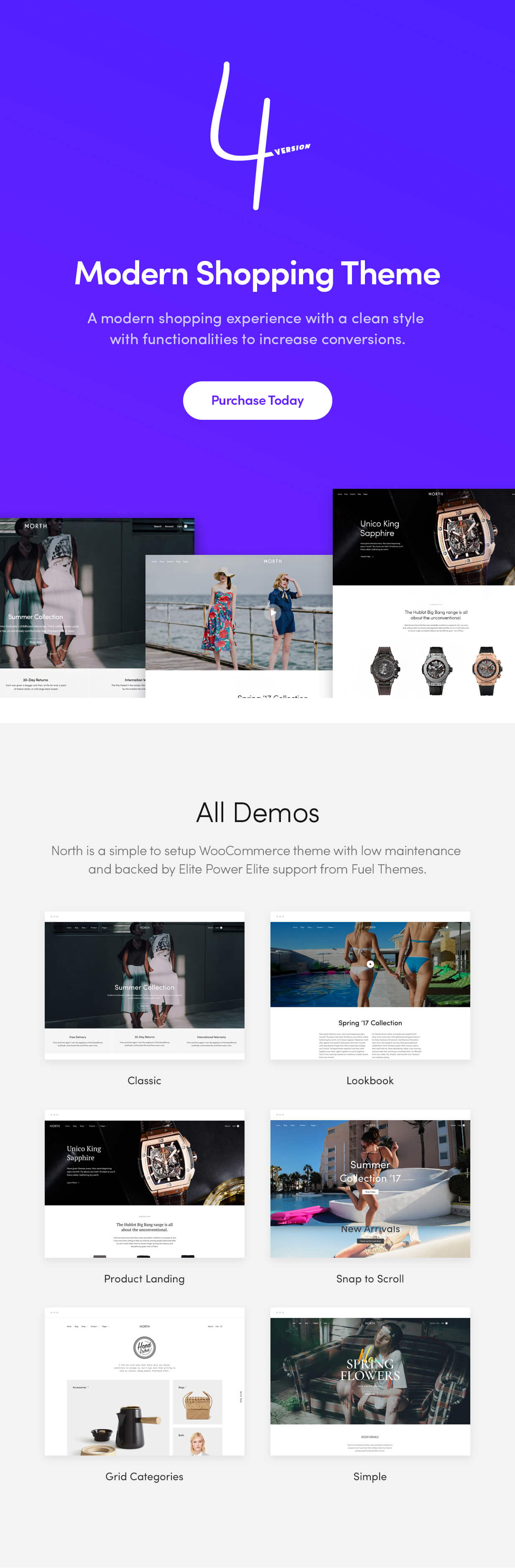 north2 - North - Responsive WooCommerce Theme