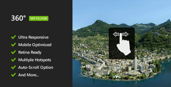 panoramic - 360° Panoramic Image Viewer - Responsive WordPress Plugin