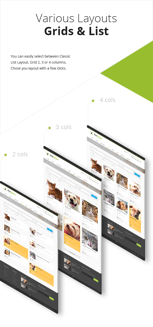 petsitter3 - Pet Sitter - Job Board Responsive WordPress Theme