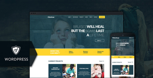 philanthropy - Philanthropy - Nonprofit WordPress Theme