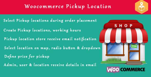 pickup - Woocommerce Pickup Locations (Local Pickup) wordpress plugin