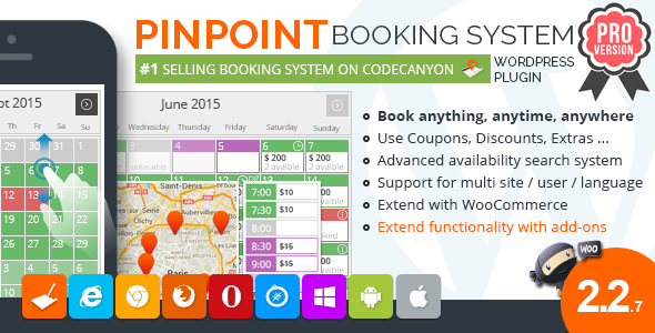 pinpoint - Pinpoint Booking System PRO - Book everything with WordPress
