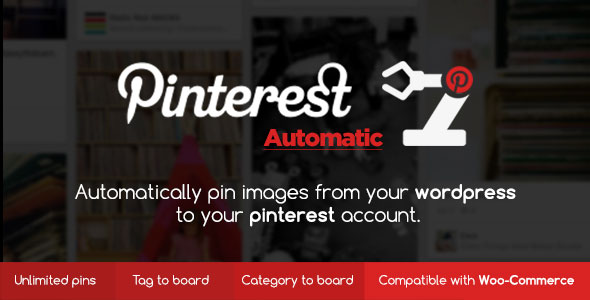 pinterest - Pinterest Automatic Pin Wordpress Plugin