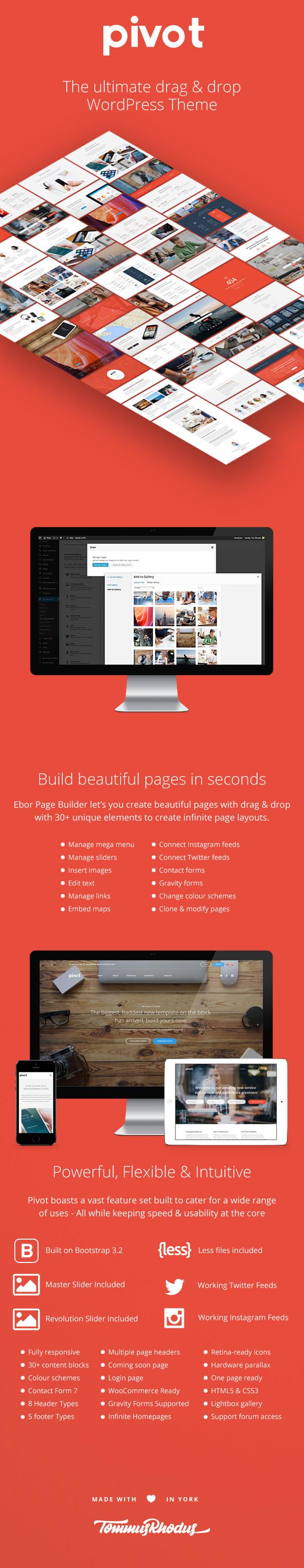 pivot4 - Pivot | Responsive Multipurpose WordPress Theme