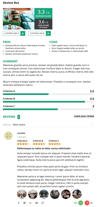 reviewer5 - Reviewer WordPress Plugin