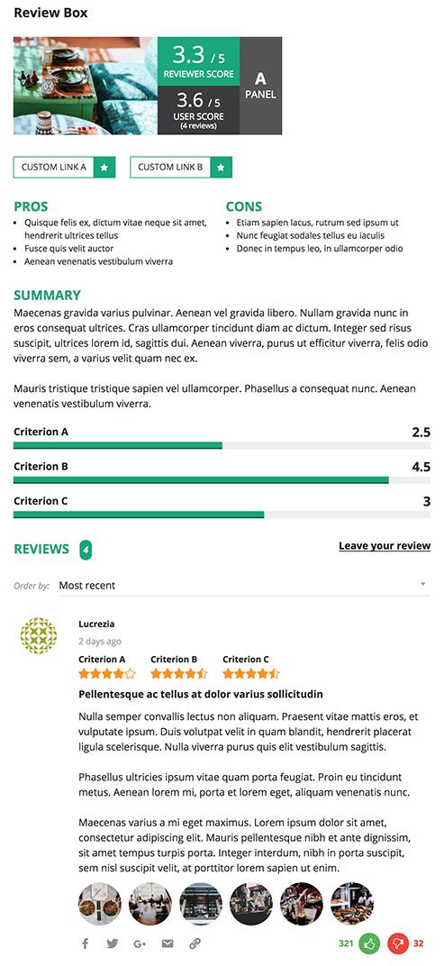 reviewer6 - Reviewer WordPress Plugin