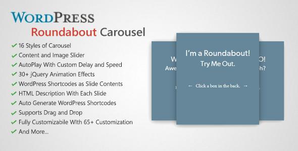 roundabout 1 - Roundabout - WordPress Carousel Slider Plugin