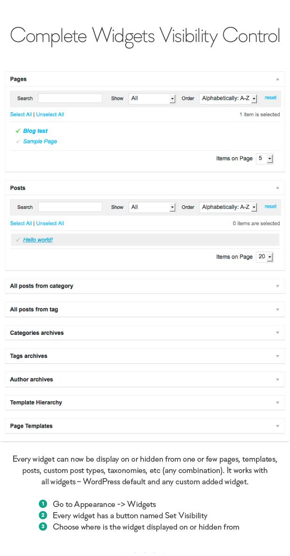sidebar10 - Sidebar & Widget Manager for WordPress