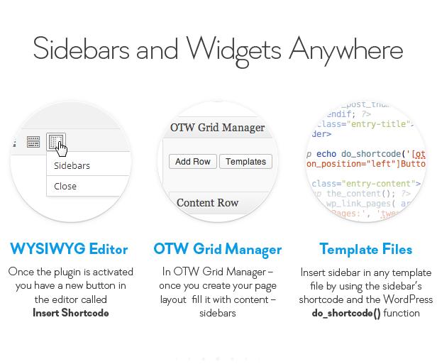 sidebar12 - Sidebar & Widget Manager for WordPress