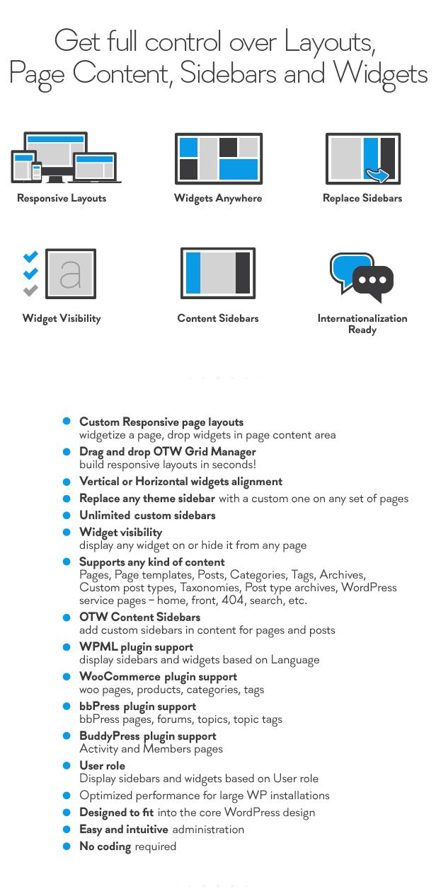 sidebar2 - Sidebar & Widget Manager for WordPress