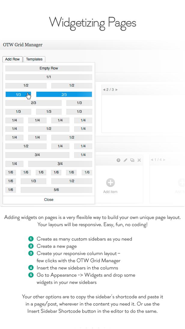 sidebar7 - Sidebar & Widget Manager for WordPress