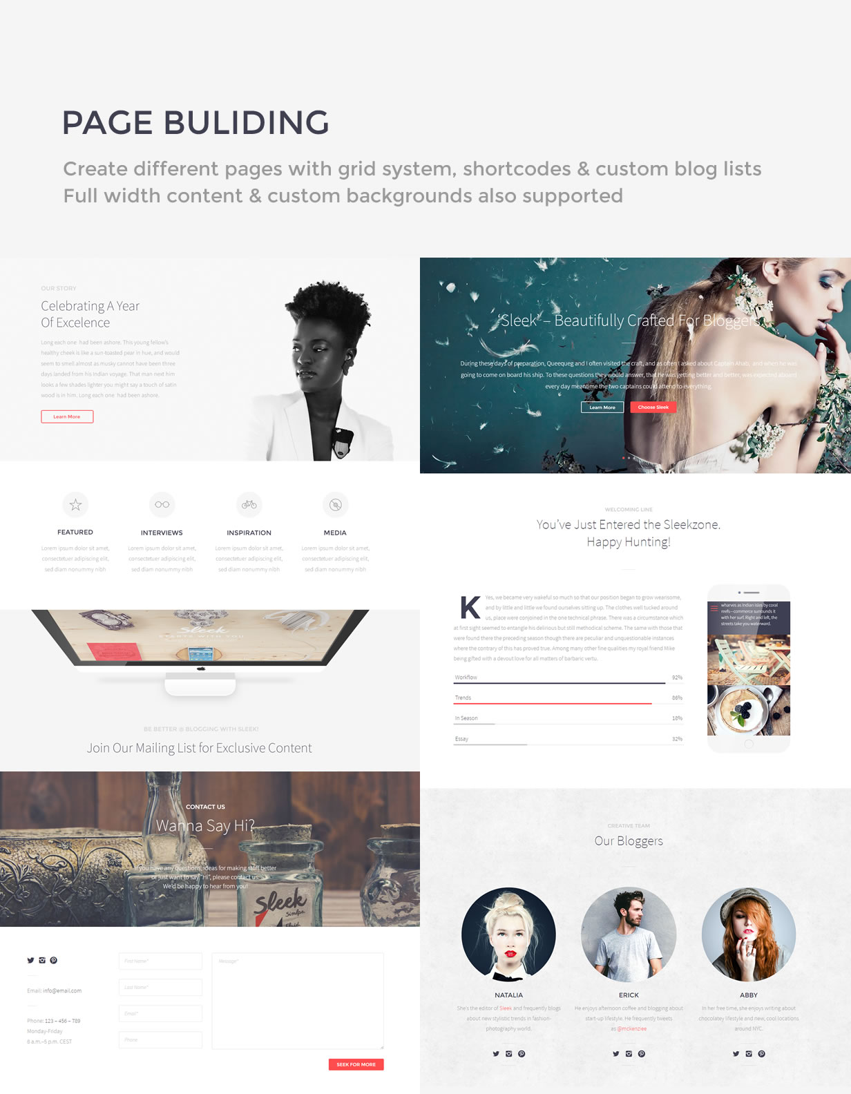 sleek8 - Sleek | Responsive & Creative WordPress Blog Theme