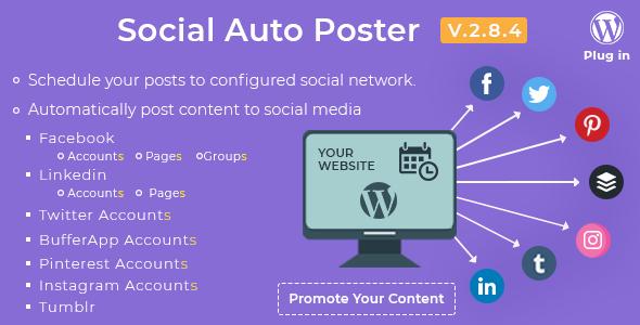 social 2 - Social Auto Poster - WordPress Plugin