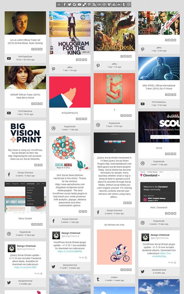 social2 - WordPress Social Stream