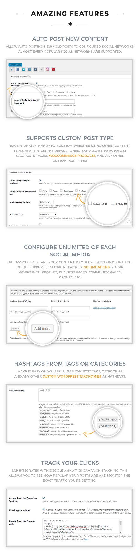 social3 2 - Social Auto Poster - WordPress Plugin