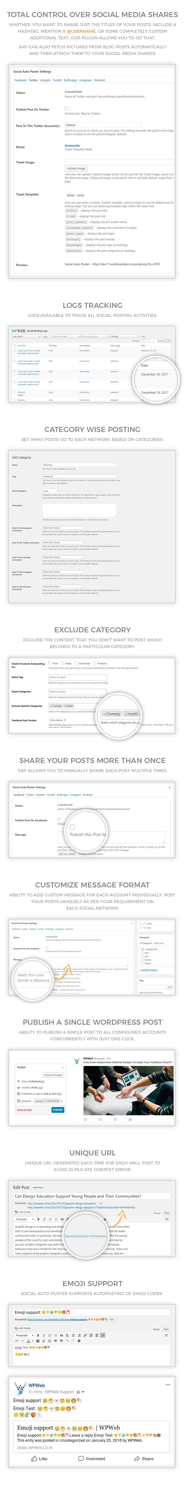 social4 2 - Social Auto Poster - WordPress Plugin