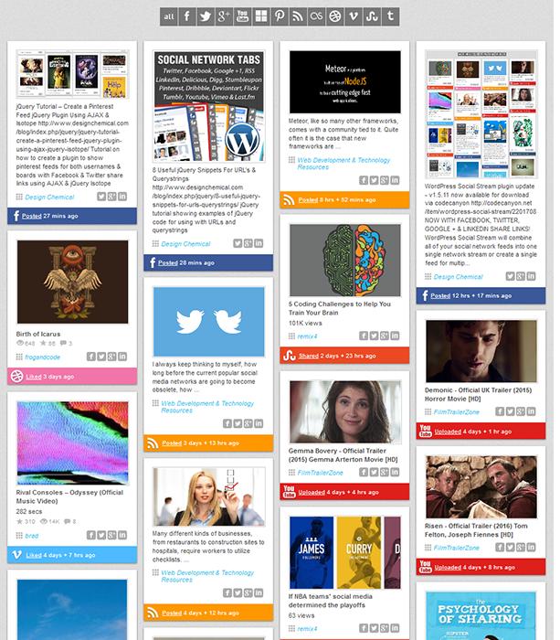 social4 - WordPress Social Stream