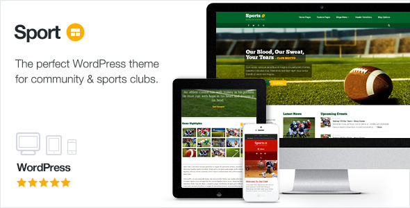 sport - Sport - WordPress Club Theme