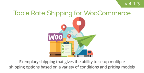 table - Table Rate Shipping for WooCommerce