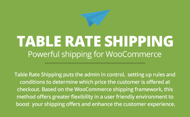 table2 - Table Rate Shipping for WooCommerce