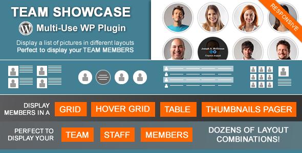 team - Team Showcase - Wordpress Plugin