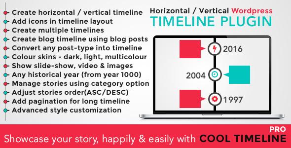 timeline - Cool Timeline Pro - WordPress Timeline Plugin