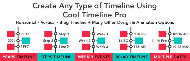 timeline2 - Cool Timeline Pro - WordPress Timeline Plugin