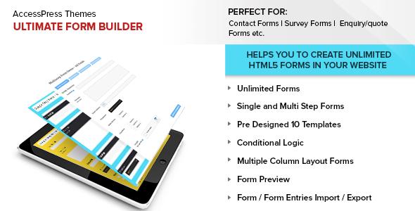 ultimate - Ultimate Form Builder