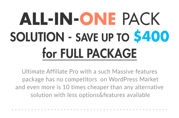 ultimate5 - Ultimate Affiliate Pro WordPress Plugin