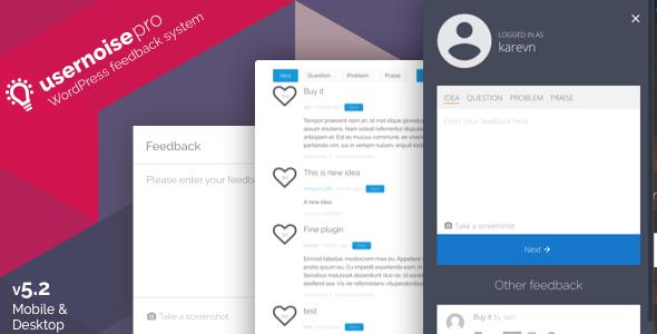 usernoise - Usernoise Pro Modal Feedback & Contact form