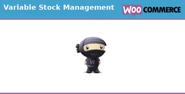 variable - Woocommerce Variable stock management