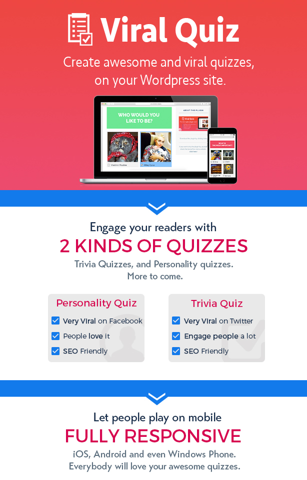 viral2 - Wordpress Viral Quiz – BuzzFeed Quiz Builder