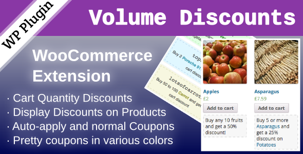 volume - WooCommerce Volume Discount Coupons