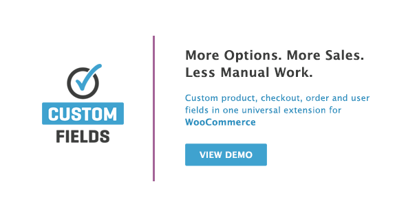 woocommerce 1 - WooCommerce Custom Fields