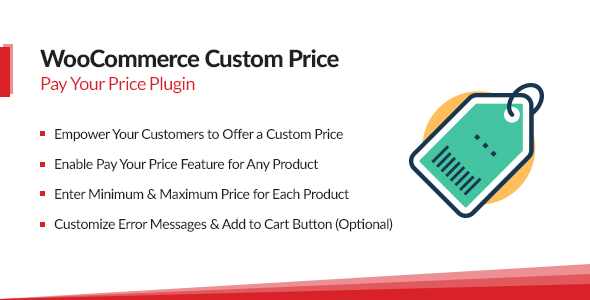 woocommerce - WooCommerce Name Your Price – Custom Pay Your Price Plugin