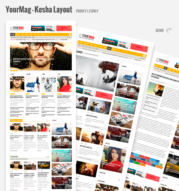 yourmag2 - YourMag - Universal WordPress News/Magazine Theme