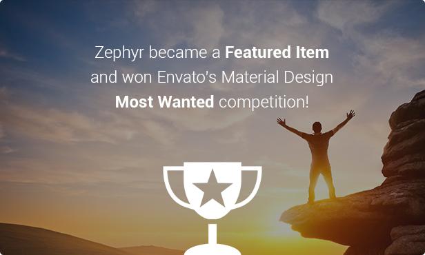 zephyr4 - Zephyr | Material Design Theme