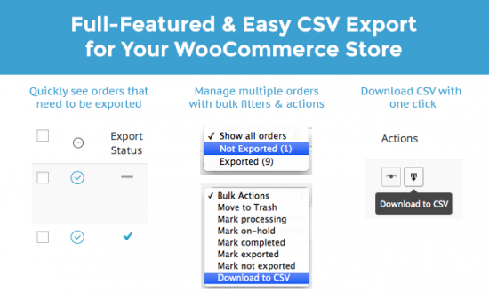 1 2 - WooCommerce Customer / Order CSV Export
