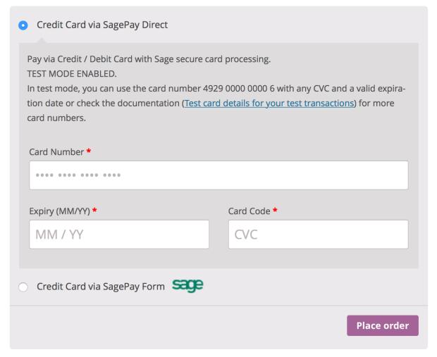 Пользователям будет предоставлена возможность оплачивать использование SagePay