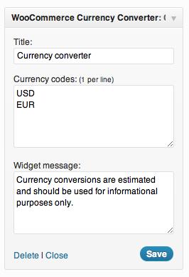 2 1 - Currency Converter Widget