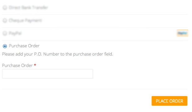 Ваш клиент размещает номер своего заказа на покупку здесь, когда вы покупаете его в магазине.