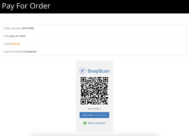 2 19 - WooCommerce SnapScan Gateway
