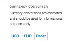 3 - Currency Converter Widget